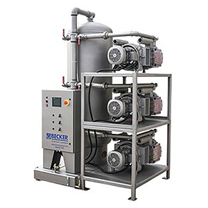 Advantage-D Oil-less Medical/Industrial Central Vacuum Systems